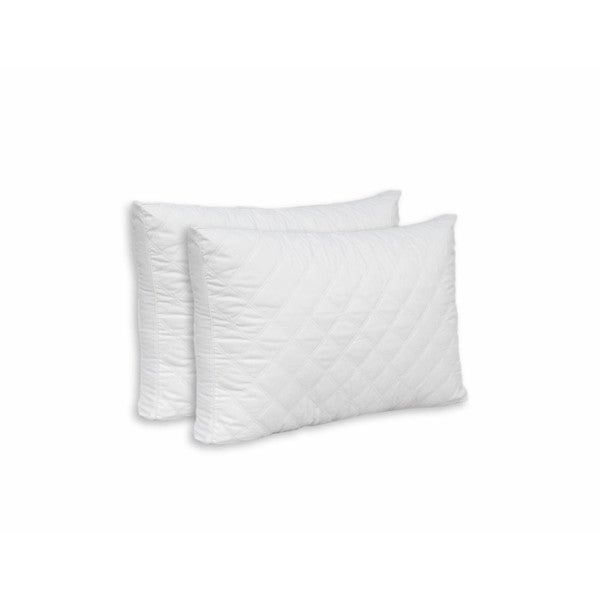 Slumber Shop ISO-PEDIC Diamond Double Quilted Pillow (Set of 2)