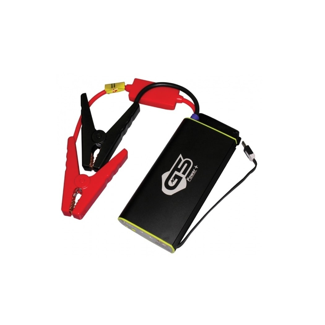 EZ Easy Charge Portable Car Jump Starter (Black/red)