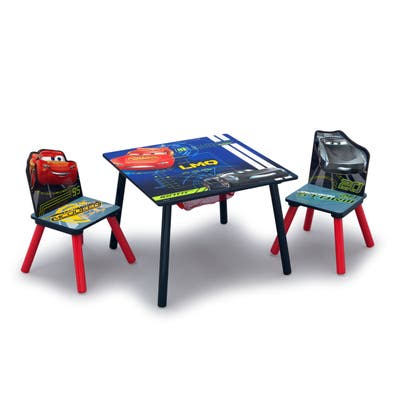 Disney/Pixar Cars Table and Chair Set with Storage
