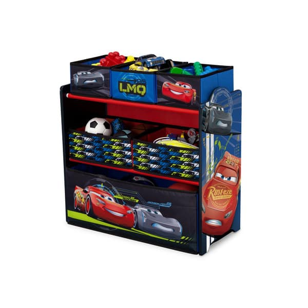 Superb Shop Disney Pixar Cars Multi Bin Toy Organizer Free Pdpeps Interior Chair Design Pdpepsorg
