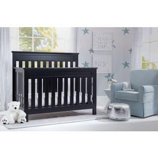 Delta Children Chalet  4-in-1 Convertible Crib , Black
