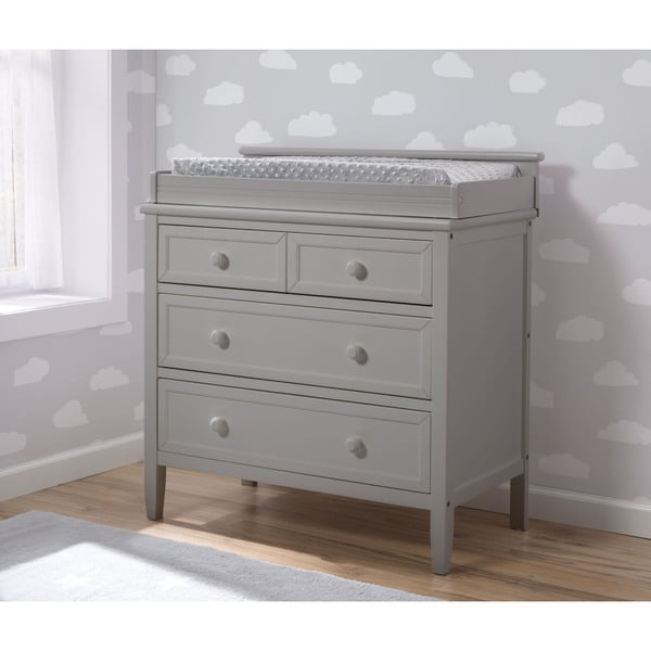 Shop Delta Children Epic Signature 3 Drawer Dresser Grey