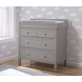 Delta Children Epic Signature 3-Drawer Dresser, Grey