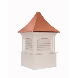 Southington Vinyl Cupola with Copper Roof by Good Directions