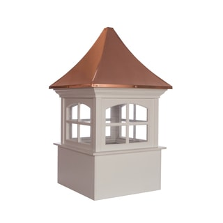 Westport Vinyl Cupola with Copper Roof by Good Directions  sc 1 st  Overstock.com & Shop Good Directions Windsor Cupola - Free Shipping Today ...