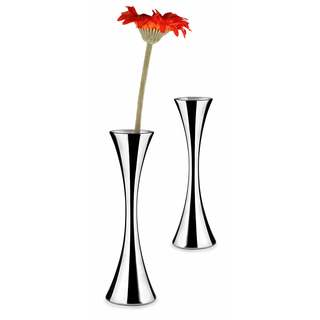 Visol Colette Stainless Steel Vase - Set of Two