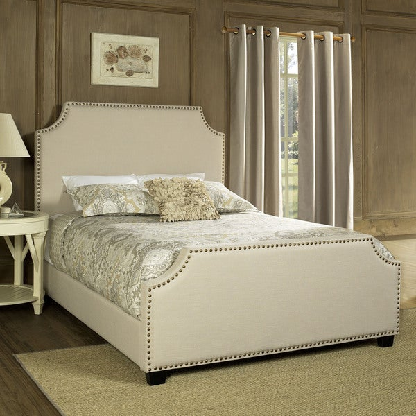 Brooks Creme Queen Bedset by Crosley Furniture