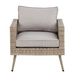 INK+IVY Avery Light Grey/ Grey Outdoor Lounge