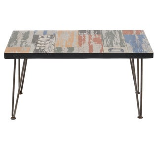 INK+IVY Austin Dark Bronze Outdoor Coffee Table