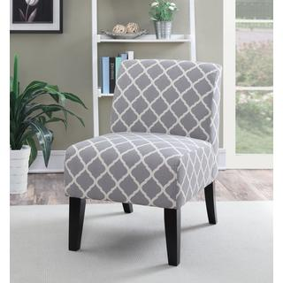 LYKE Home Panama Quatrefoil Accent Chair
