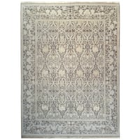 Wool and SIlk Tabriz Rug - 8' x 10'4''