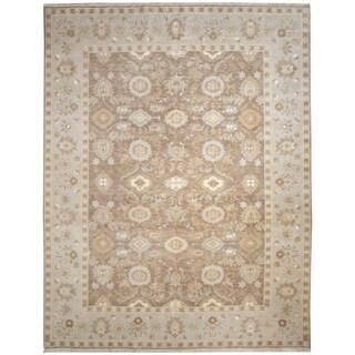 Wool and Silk Tabriz Rug - 7'11'' x 10'4''