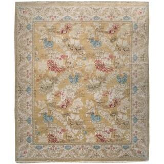 Handknotted Wool Besserebian Rug , 8'4'' x 9'8''