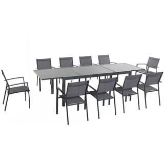 Cambridge Nova Aluminum 11-piece Dining Set