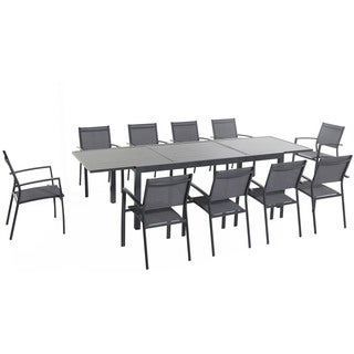 Cambridge Nova Aluminum 11-piece Dining Set