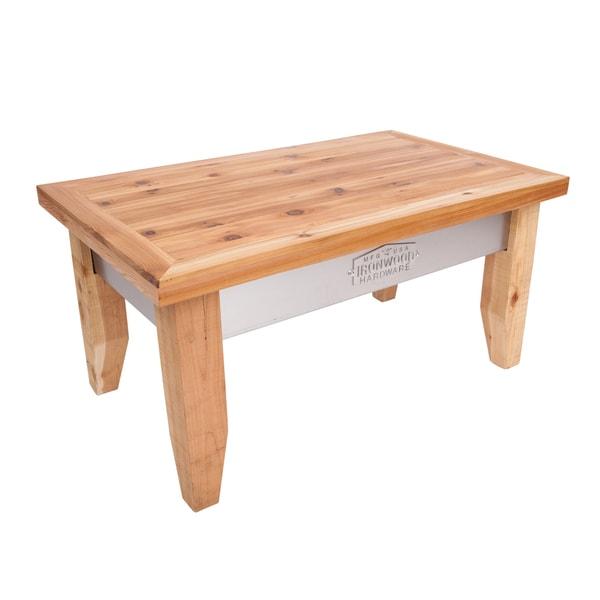 Ironwood Hardware 40x22 Cedar Stand up Sandbox