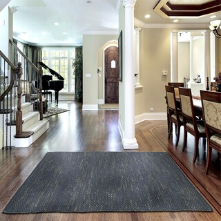 L and R Home Distressed Natural Onyx Indoor Area Rug - 8' x 10'
