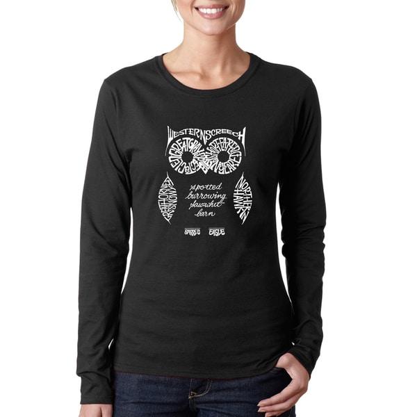 Women's Owl Long Sleeve T-Shirt