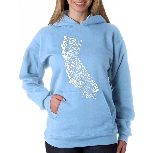 Women's California State Hooded Sweatshirt