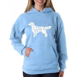 Women's Golden Retreiver Hooded Sweatshirt