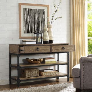 Trenton Console Table in Coffee