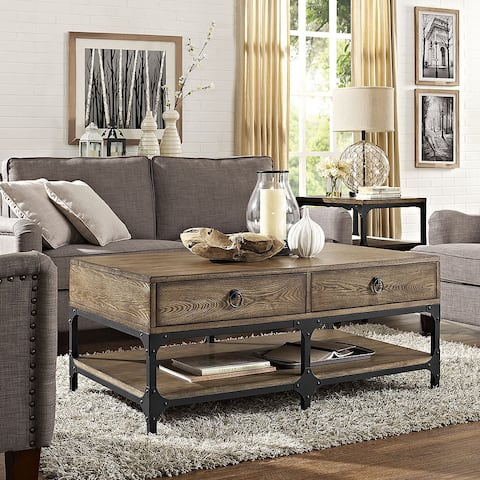 Trenton Coffee Table in Coffee