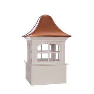 Greenwich Vinyl Cupola with Copper Roof by Good Directions