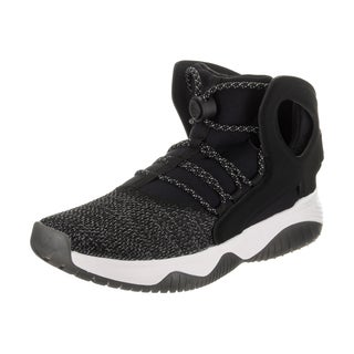 Nike Men's Air Flight Huarache Ultra Black Nubuck Basketball Shoe