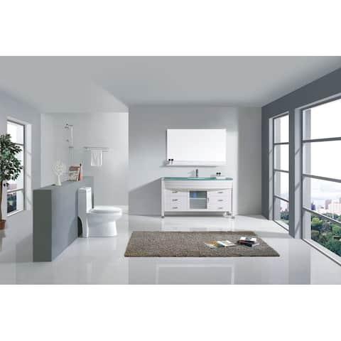 Ava 55-in Single Bathroom Vanity Set with