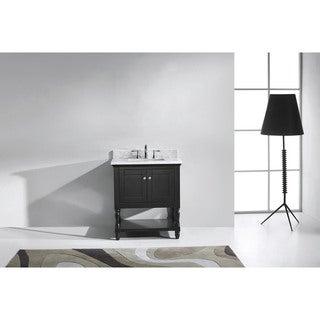 Virtu USA Julianna 32-inch Square Single Bathroom Vanity Set with No Mirror