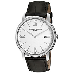 Baume & Mercier Men's MOA08485 Classima Stainless Steel Watch