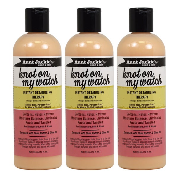 Aunt Jackie's Knot On My Watch 12-ounce Detangling Therapy (Pack of 3)