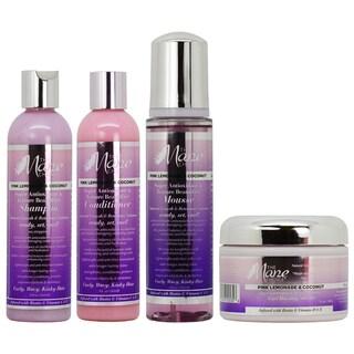 The Mane Choice Pink Lemonade & Coconut Super Anti Oxidant & Texture Beautifier 4-piece Colleciton
