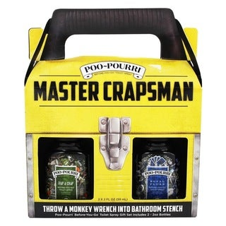 Poo-Pourri Master Crapsman Odor Eliminator Set