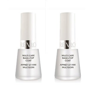 Revlon Nail Polish Multi Care Base+Top Coat