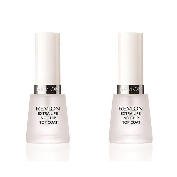 No Chip Nail Polish Reviews: Shop Revlon Extra Life No Chip Top Coat Nail Care