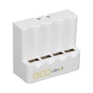 Insten 4-pack Wall Charger for USB Rechargeable Battery