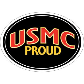 Proud USMC Magnet For Car or Home