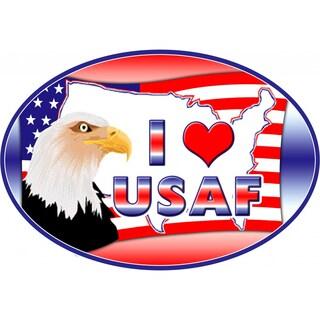 I Love USAF Magnet For Car or Home