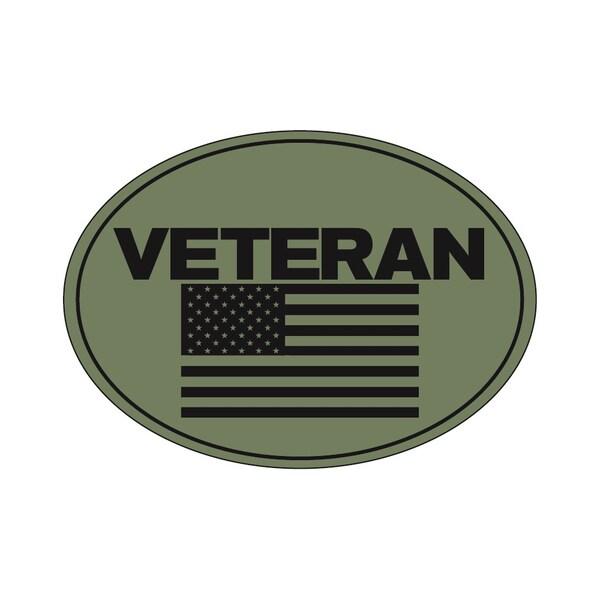 Veteran Flag Magnet For Car or Home