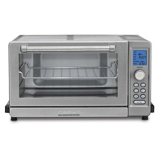 Cuisinart Deluxe Convection Toaster Oven with Broiler (Refurbished), Stainless