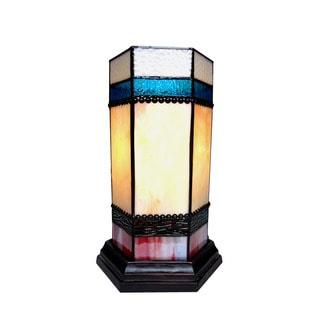 Chloe Chester Collection 1-light Dark Antique Bronze Pedestal Table Lamp