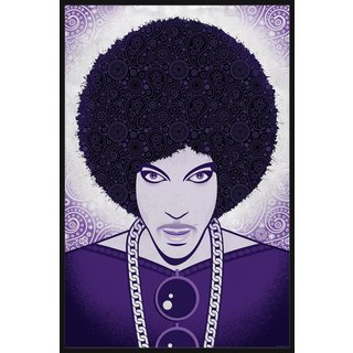 'Prince' Floater Framed Painting Print on Canvas