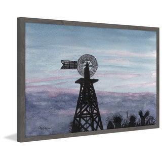 'Texas Sunset' Framed Painting Print