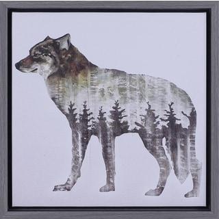 13.5X13.5 Wolf, Framed Art