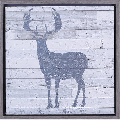Hobbitholeco 'Deer' Framed Art