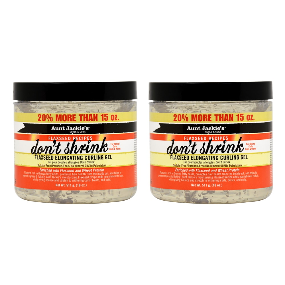 Omega Aunt Jackie's Don't Shrink Flaxseed 15-ounce Elonga...
