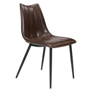 Zuo Norwich Faux Leather Dining Chairs (Set of 2)