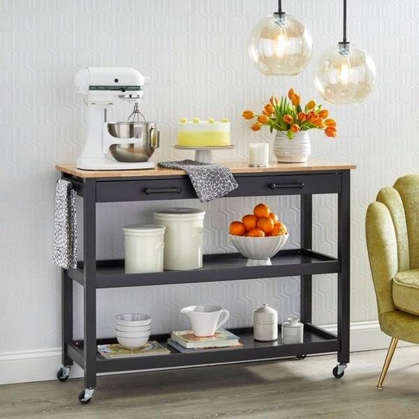 angelo:HOME Arlington Kitchen Cart