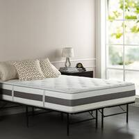 Priage 12-inch Full-size Pocketed Coil and Gel Memory Foam Hybrid Mattress